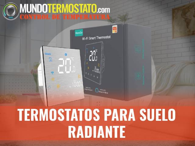 termostato para suelo radiante