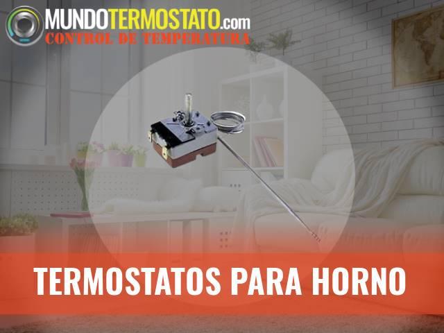 termostatos para horno